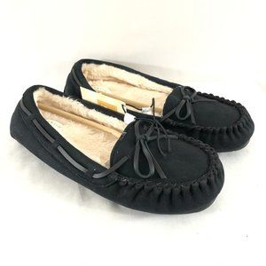 Fantiny Womens Moccasin Slippers Memory Foam 10